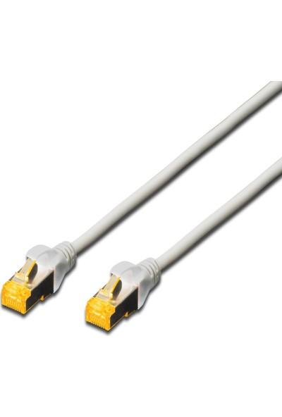 Beek CAT 6A SFTP/PIMF (Pairs in metal foil) Patch Kablosu LSOH AWG 26 1 m - Gri