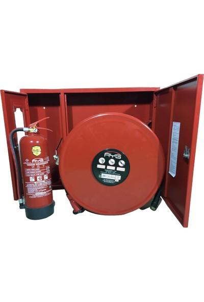 A Yangın Yangın Dolabı Sıfır Garantili Ürün Ce-Tse Belgeli