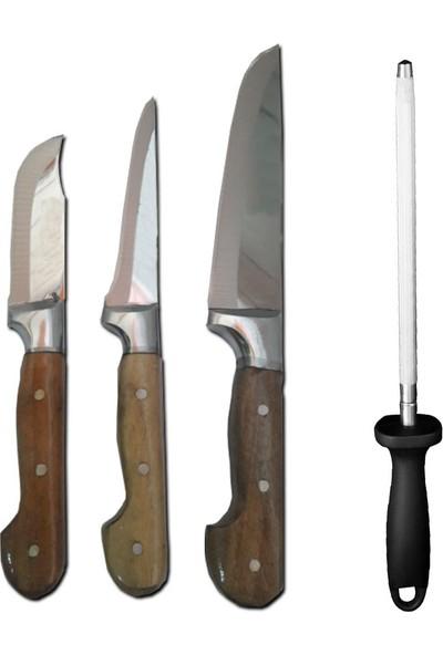 Moniev Sürmene Bıçak Seti Yüzme Sıyırma Bıçak Seti Kurban Bıçağı