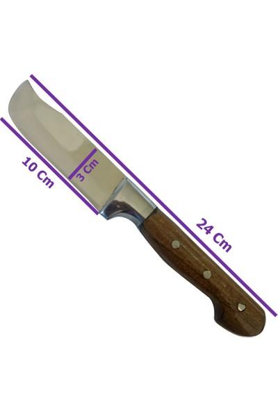 Moniev Sürmene Yüzme Bıçağı 24 cm El Yapımı Kurban Bıçağı