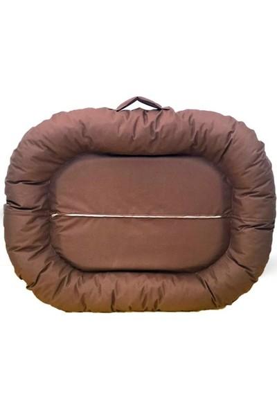 Bedspet Dış Mekan Köpek Yatağı 115 x 125 cm Kahverengi