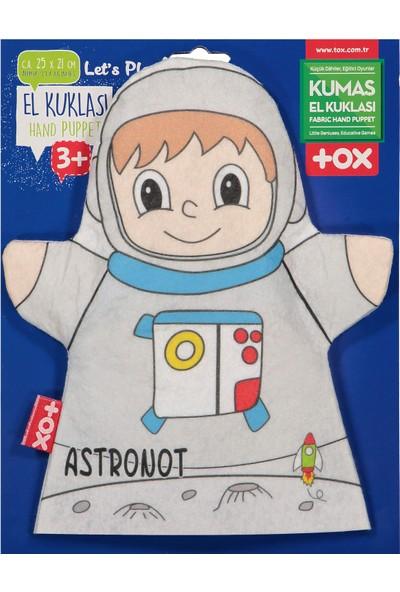 Tox Astronot Meslekler Keçe El Kukla