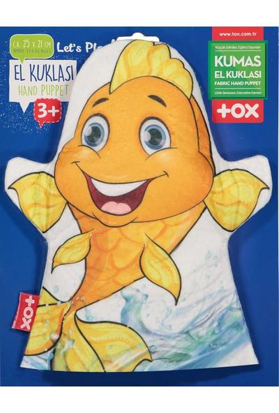 Tox Balık Evcil Hayvanlar Keçe El Kukla