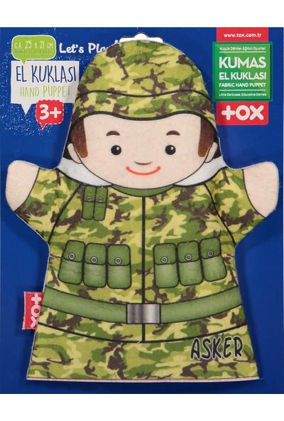 Tox Asker Meslekler Keçe El Kukla