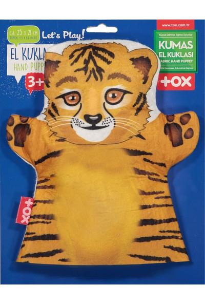 Tox Kaplan Vahşi Hayvanlar Keçe El Kukla