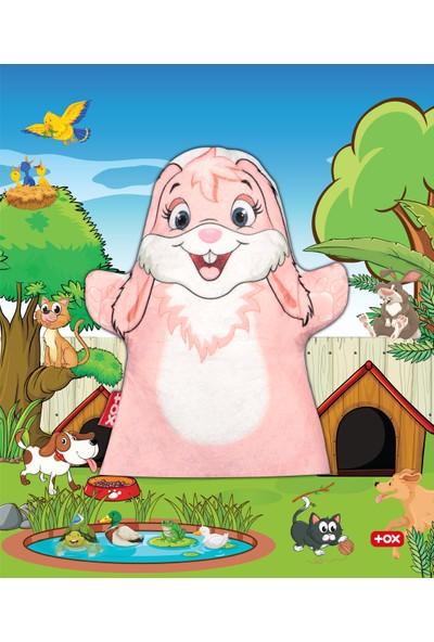 Tox Tavşan Evcil Hayvanlar Keçe El Kukla