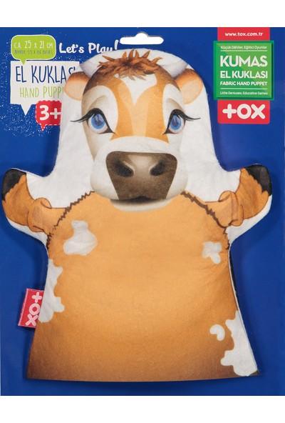 Tox Inek Evcil Hayvanlar Keçe El Kukla