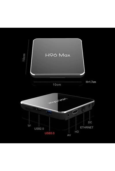İnka H96 Max X2 4 GB Ram 32 GB Rom USB 3.0 Android 9.0 TV Box