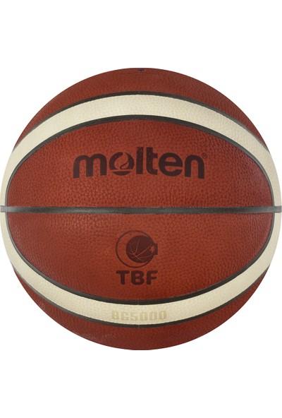 Molten B6G5000 Fıba Onaylı Deri 6 No Basketbol Maç Topu