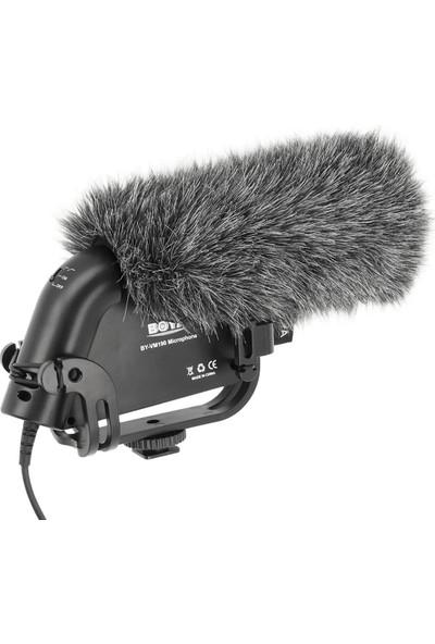 Boya BY-VM190 Dslr Dslm Video Kamera ve Ses Kayıt Cihazı Mikrofon