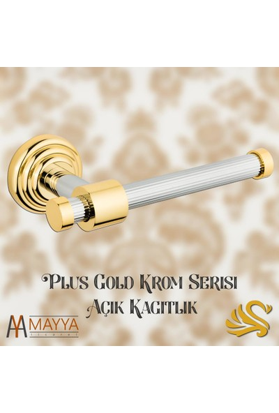 Saray Banyo Plus Gold Krom Açık Kağıtlık