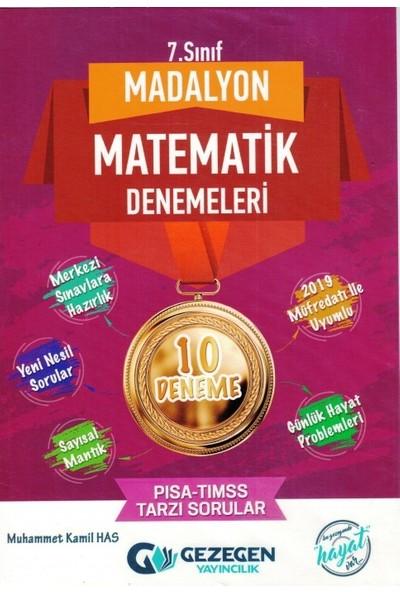 Gezegen Yayıncılık Madalyon 7.Sınıf 10'lu Matematik Denemeleri