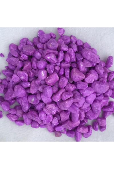 Greenmall Teraryum Taşı Büyük Mor 1 kg
