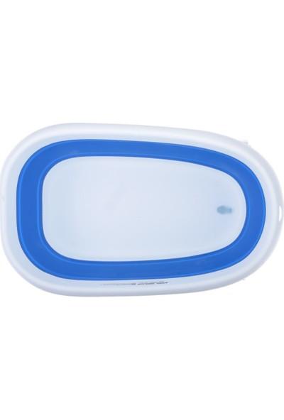 Sebi Pratik Katlanabilir Mega Banyo Küveti Mavi