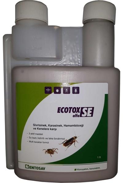 Entosav Ecotox Alfa Se 1000 ml Kene Sivrisinek Karasinek Hamamböceği Ilaç