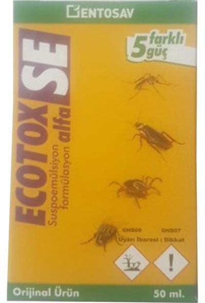 Entosav Ecotox Alfa Se 50 ml Kene Sivrisinek Karasinek Hamam Böceği Ilacı