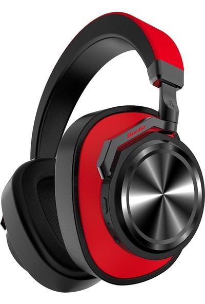 Bluedio T6 Bluetooth 5.0 Kulaklık Kırmızı