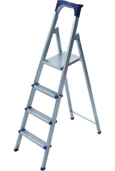 Elips Galvanizli Profil Merdiven 3+1 Basamaklı
