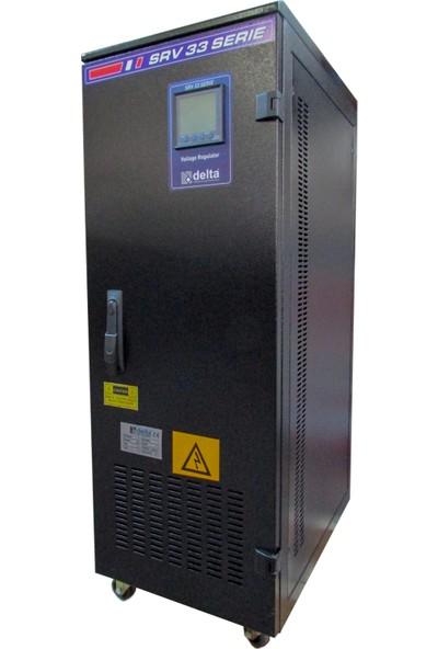 Delta 45 Kva Servo Trifaze Voltaj Regülatörü 200-400V