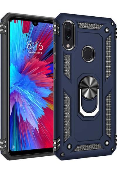Zore Xiaomi Redmi Note 7 Kılıf Vega Silikon - Mavi