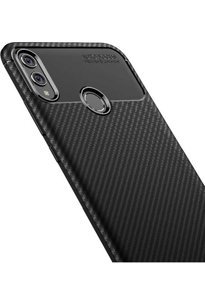 Zore Huawei Honor 8X Kılıf Negro Silikon - Siyah