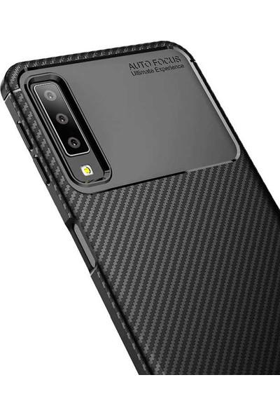Zore Samsung Galaxy A9 2018 Kılıf Negro Silikon - Siyah
