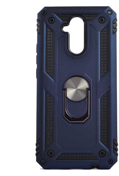 Zore Huawei Mate 20 Lite Kılıf Vega Silikon - Mavi