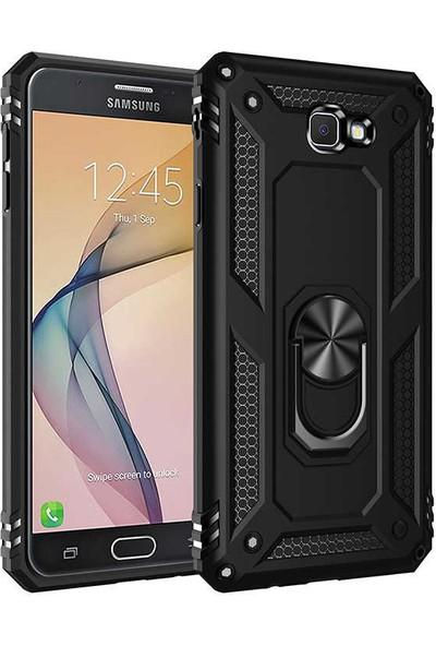 Zore Samsung Galaxy J7 Prime Kılıf Vega Silikon - Siyah