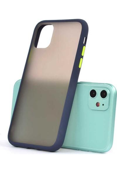 Zore Apple iPhone 11 Kılıf Silikon - Lacivert