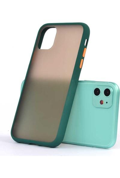Zore Apple iPhone 11 Kılıf Silikon - Koyu Yeşil