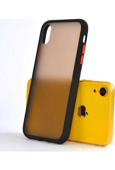 Zore Apple iPhone XR Kılıf Silikon - Siyah
