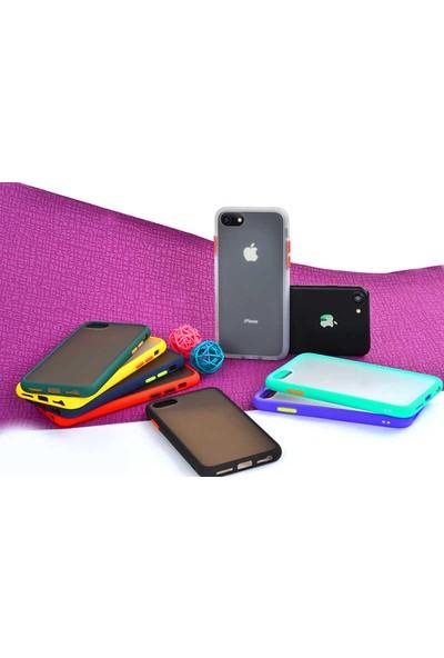 Zore Apple iPhone 8 Kılıf Silikon - Siyah