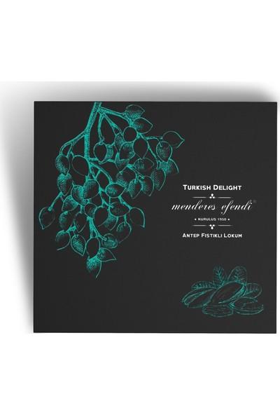Menderes Efendi Antep Fıstıklı Ve Gül Yapraklı Güllü Lokum 500 gr