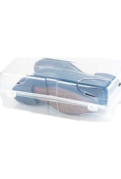 Hipaş hipaş Plastik Erkek Ayakkabı Kutusu - 5 Adet