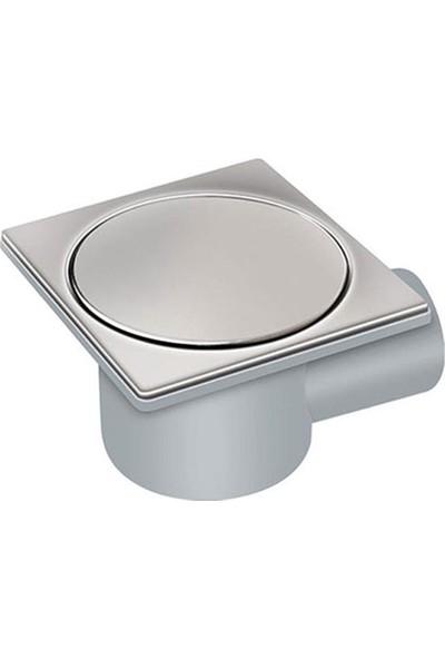 Mesa Teknik Ø50 Drainer Bas Aç/kapa Yandan Çıkışlı Banyo Yer Süzgeci 11 x 11 cm