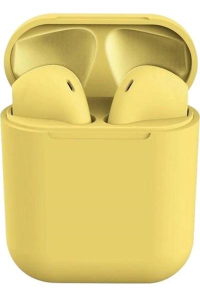 Sevfe I12 Tws Bluetooth Kulaklık - Sarı