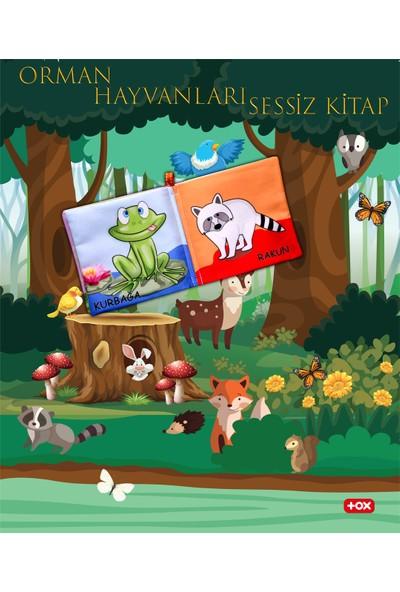 Tox Orman Hayvanları Kumaş Sessiz Kitap - Bez Kitap