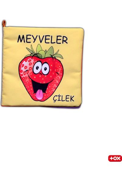 Tox Meyveler Kumaş Sessiz Kitap - Bez Kitap