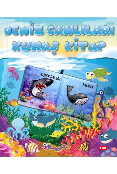 Tox Deniz Canlıları Kumaş Sessiz Kitap - Bez Kitap