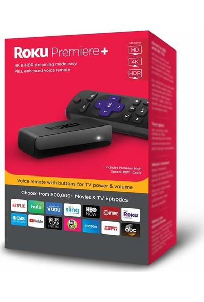 Roku Premiere+ 4K Hdr Medya Oynatıcı Netflix Youtube Lisanslı