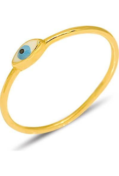 Dal Kuyumculuk Altın Göz Yüzük Modeli 14 Ayar