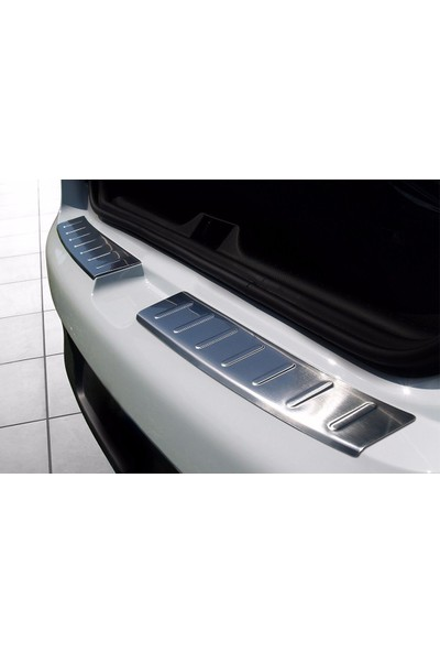 Seda Dizayn Oto Renault Clio 4 Krom Tampon Üstü Koruma 2012 Sonrası 2 Parça
