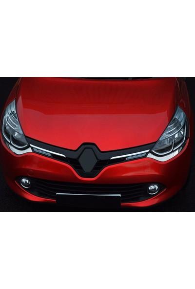 Seda Dizayn Oto Renault Clio 4 Krom Ön Panjur Çerçevesi 2 Parça 2012 Sonrası