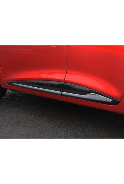 Seda Dizayn Oto Renault Clio 4 Krom Yan Kapı Çıtası 4 Parça 2012 Sonrası