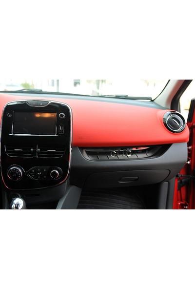 Seda Dizayn Oto Renault Clio 4 Krom Ön Konsol 2012 Sonrası