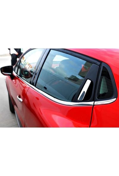 Seda Dizayn Oto Renault Clio 4 Krom Cam Çıtası 012 Sonrası 8 Parça