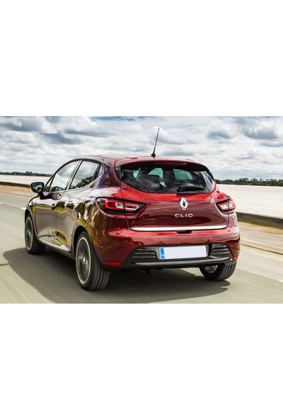 Seda Dizayn Oto Renault Clio 4 Krom Bagaj Alt Çıtası 2012 Sonrası