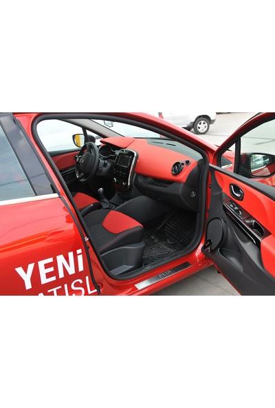 Seda Dizayn Oto Renault Clio 4 Krom Kapı Eşiği 4 Parça 2012 Sonrası