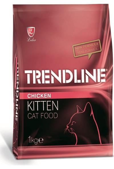 Trendline Kitten Tavuklu Yavru Kedi Maması 1 Kg