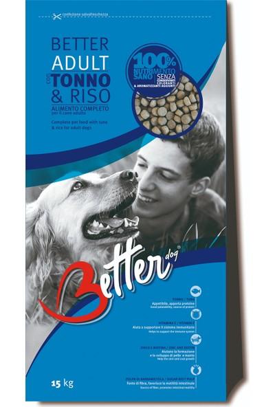 Better Ton Balığı & Pirinçli Yetişkin Köpek Maması 15 Kg